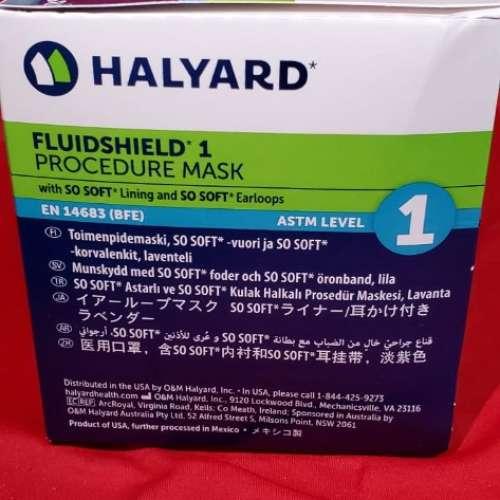 現貨 稀有紫色口罩 HALYARD口罩 ASTM LV1 - DCFever.com