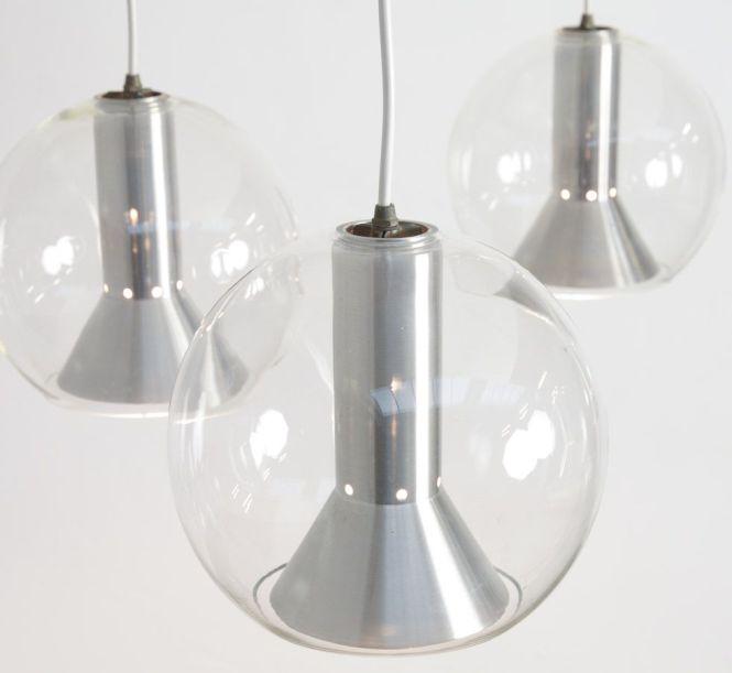 Glass Globe Chandelier From Raak