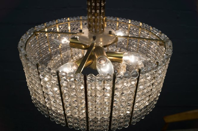 Vintage Austrian Crystal Chandelier 3 Previous