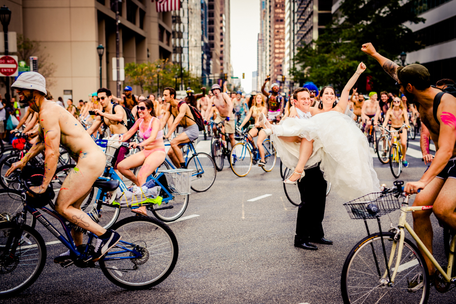 Pictures Heres What It Looks Like When Philly Naked Bike