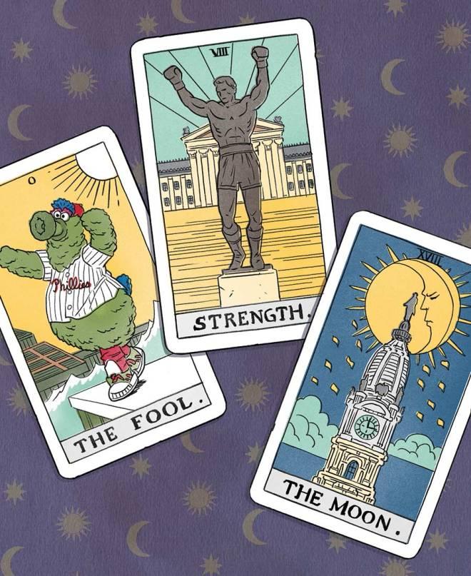 astrology trend phialdelphia tarot cards