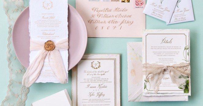 Best Philly Wedding Invitation Designers And Calligraphers