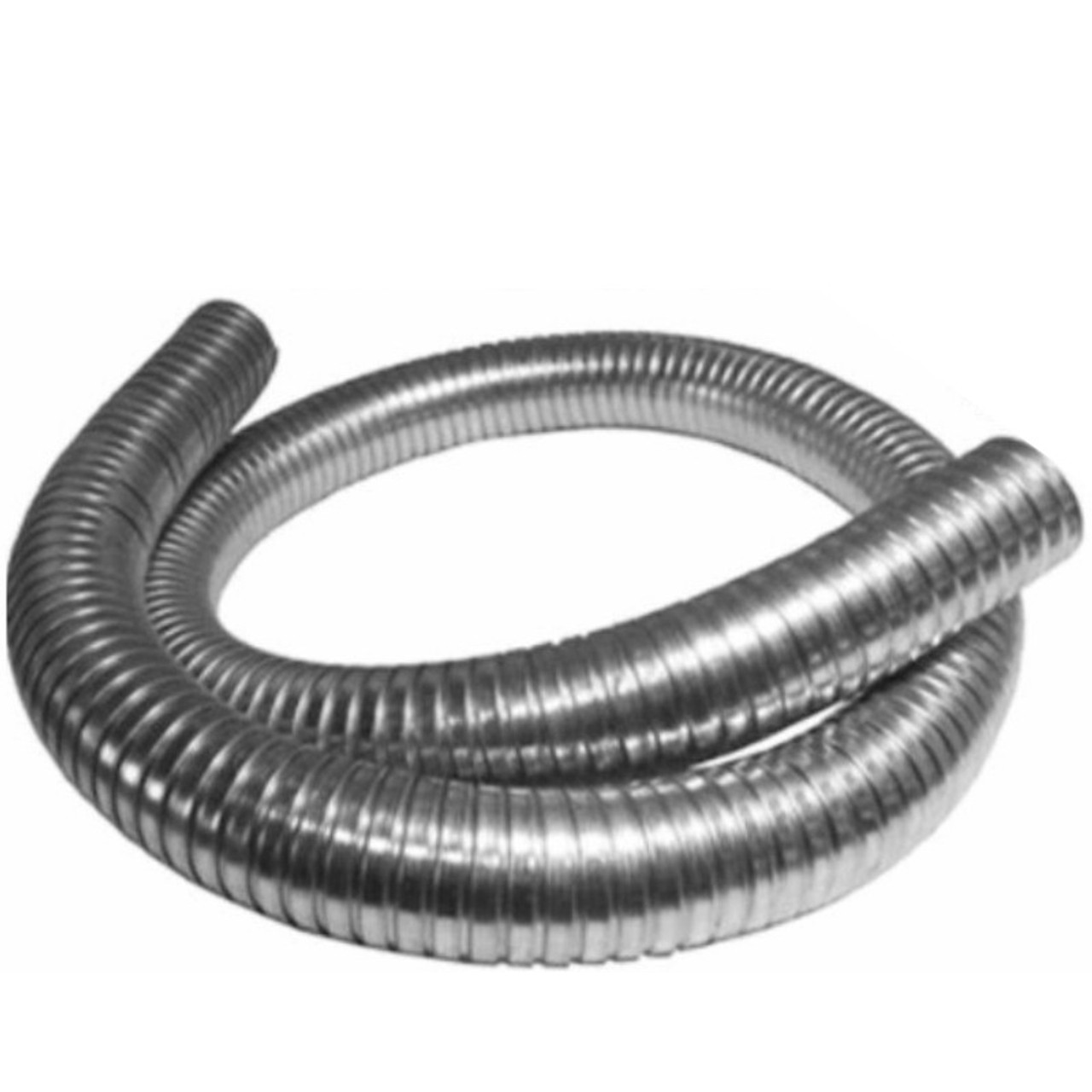 10 x 120 exhaust flex hose 304 stainless steel 302 1020 120