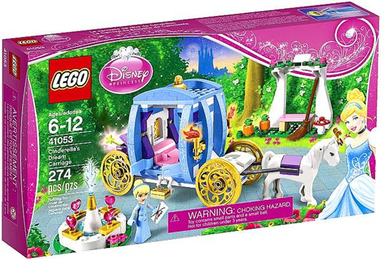 Lego Disney Princess Cinderellas Dream Carriage Set 41053 Toywiz