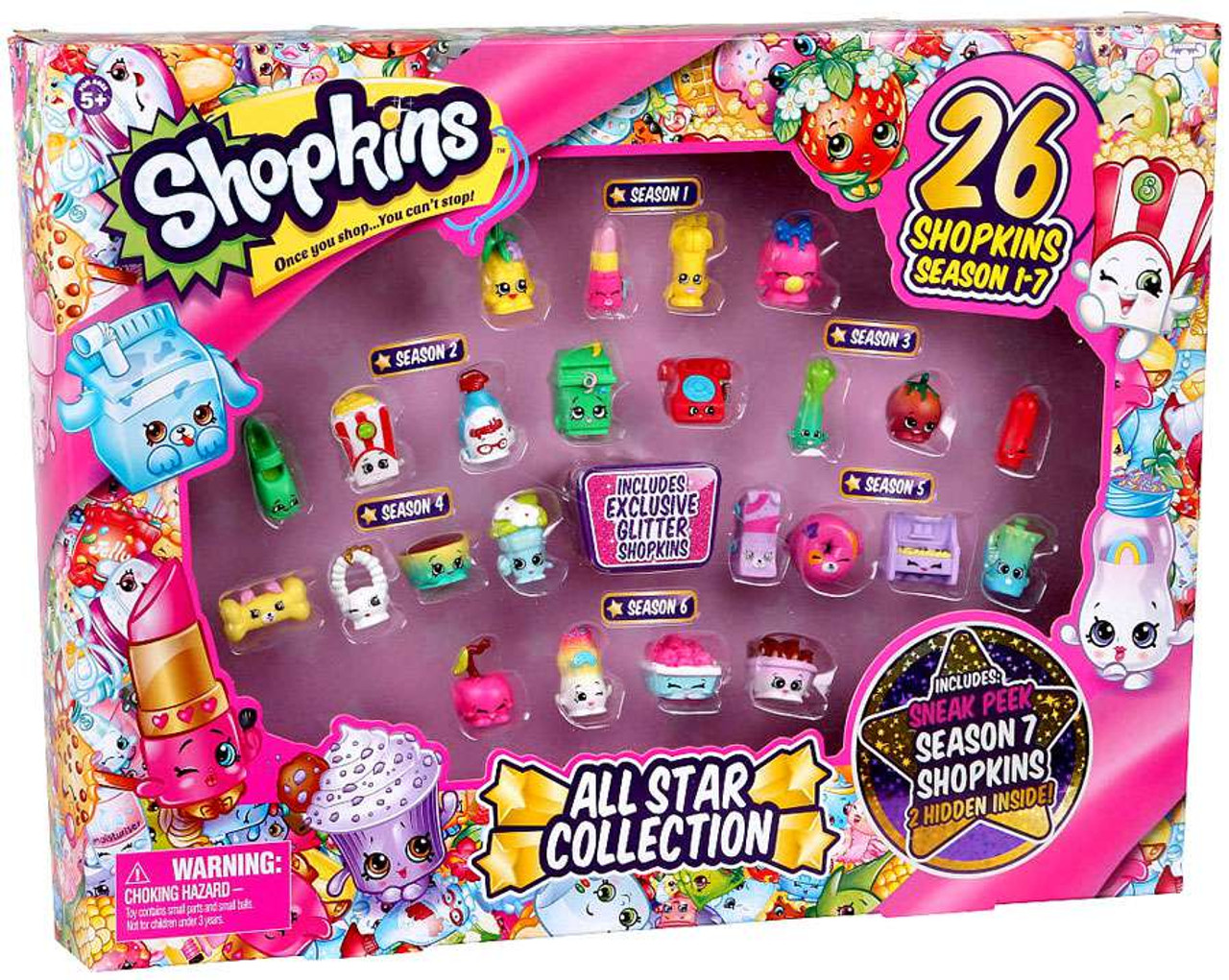 Shopkins Season 1 7 Best Of All Star Collection Exclusive Playset 26 Shopkins Moose Toys Toywiz