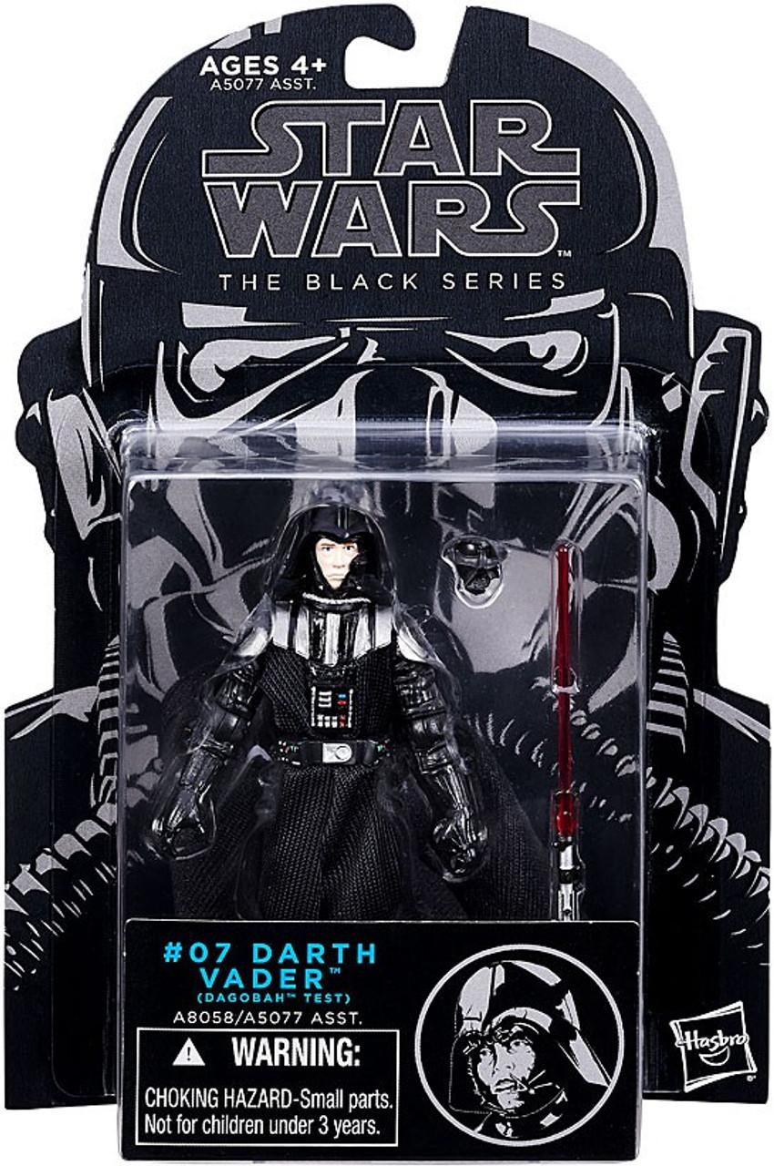 Star Wars The Empire Strikes Back Black Series Darth Vader 3 75 Action Figure 07 Dagobah Test Hasbro Toys Toywiz