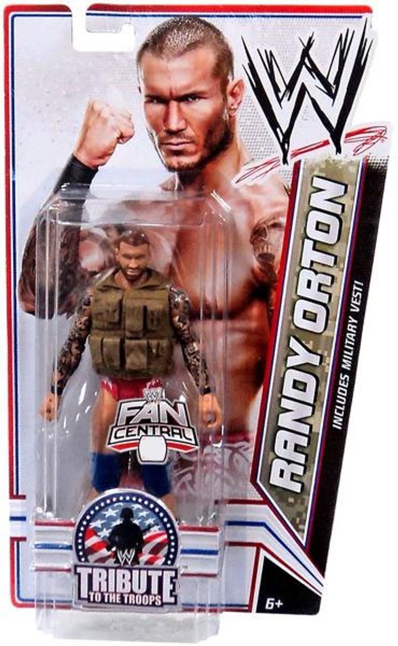 Wwe Mattel Champions Randy Orton Action Figure New Fan Central Championship Belt Sports Gamebreak Toys Hobbies