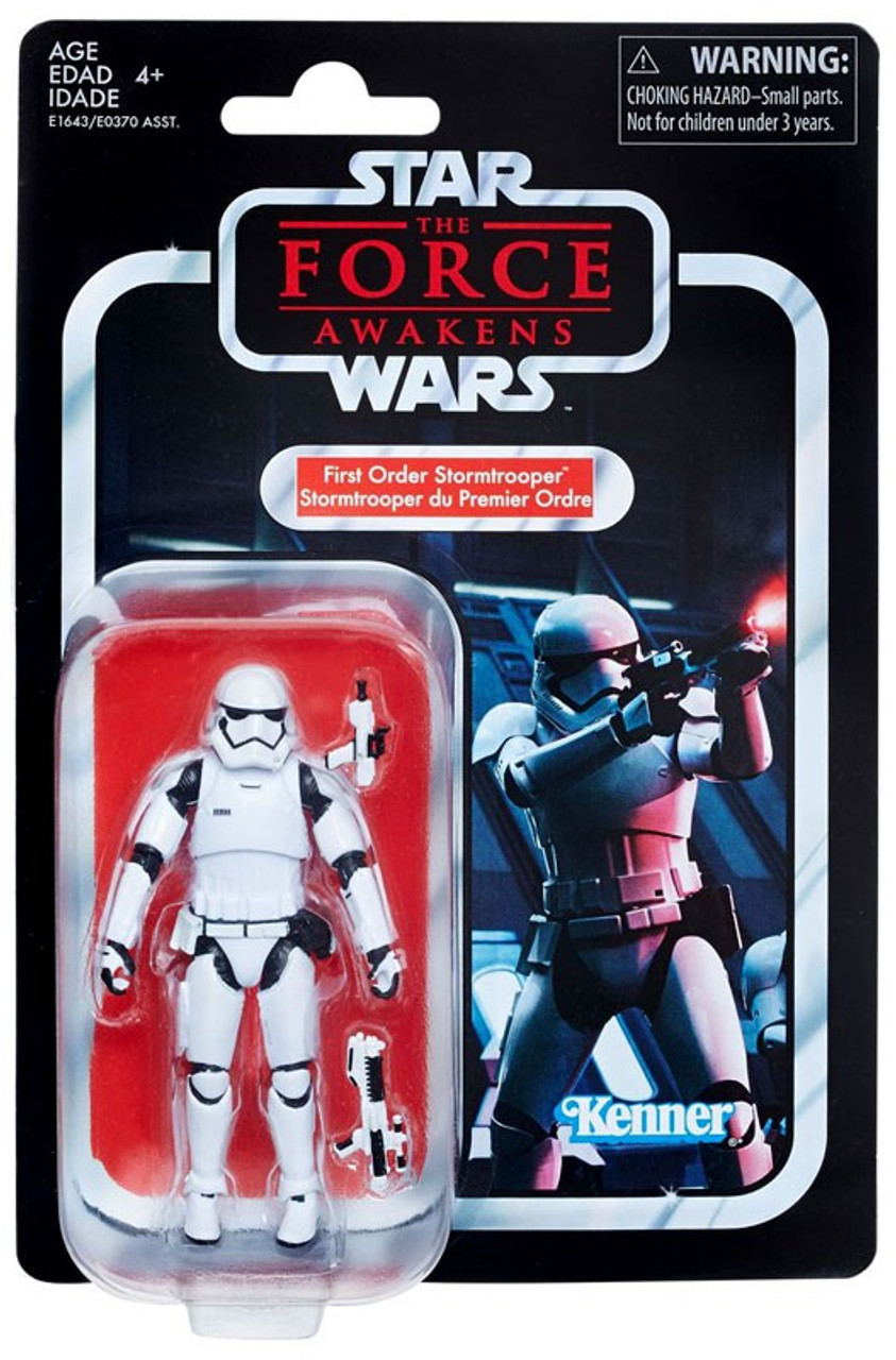 Star Wars The Force Awakens Vintage Collection First Order Stormtrooper 3 75 Action Figure Hasbro Toys Toywiz