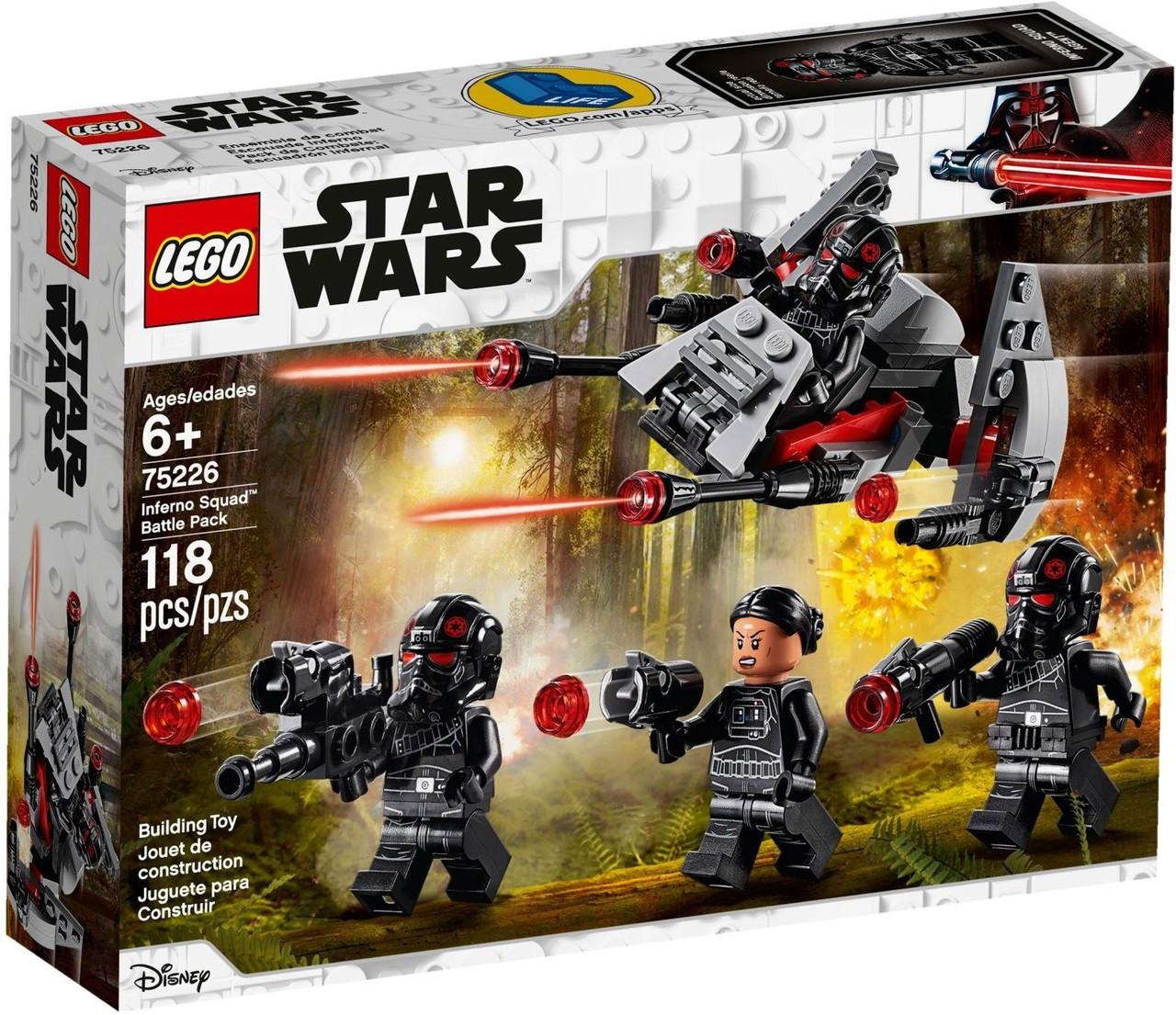 Lego Star Wars Inferno Squad Battle Pack Set 75226