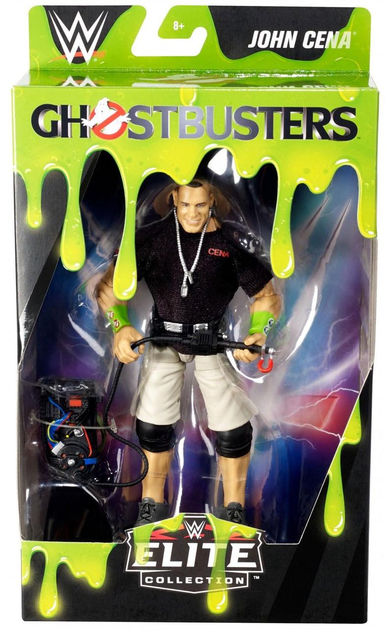 Wwe Wrestling Elite Collection Ghostbusters John Cena Exclusive 6 Action Figure Mattel Toys Toywiz