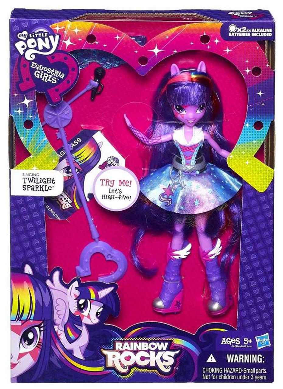 My Little Pony Rainbow Dash Toys Glitter Pony Equestria Girls Doll Film Tv Spielzeug
