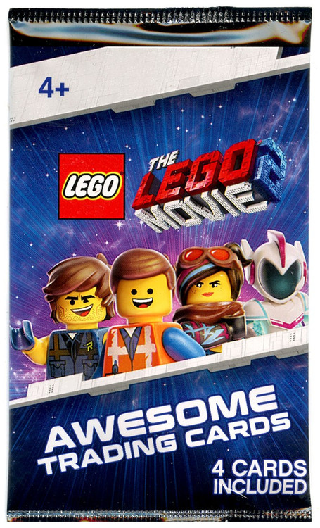 The LEGO Movie 2 The LEGO Movie 2 Trading Card Pack 4