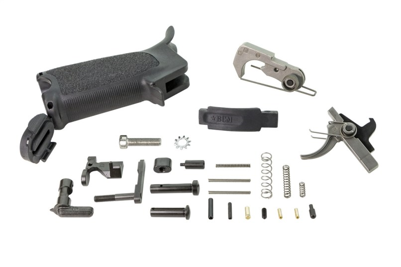 Ar15 Enhanced Lower Parts Kit Semi Bcm