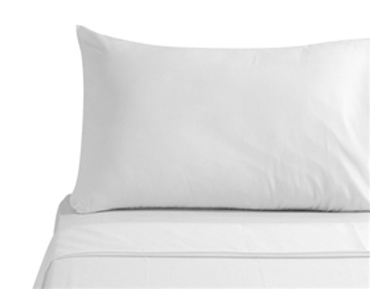 pillow case classic white standard size set of 2