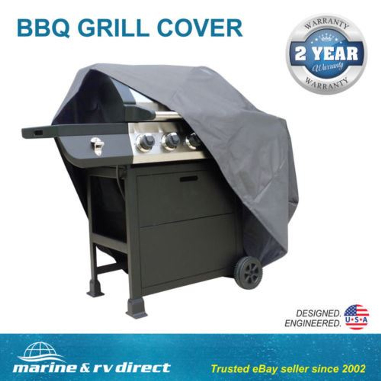 heavy duty waterproof barbecue gas grill cover patio storage protection 55