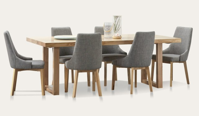 Kennedy Dining Suite With Benson Chairs