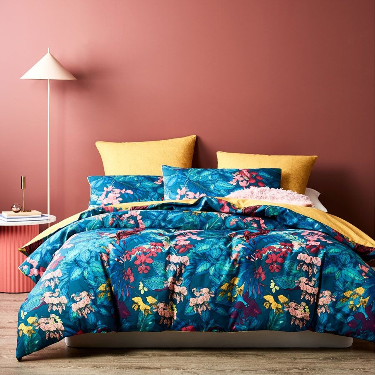 amazon teal queen quilt cover set from logan mason
