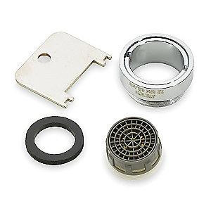 sloan 3365093 etf1024a cp repair kit 2 2 gpm male aerator 15 16 27
