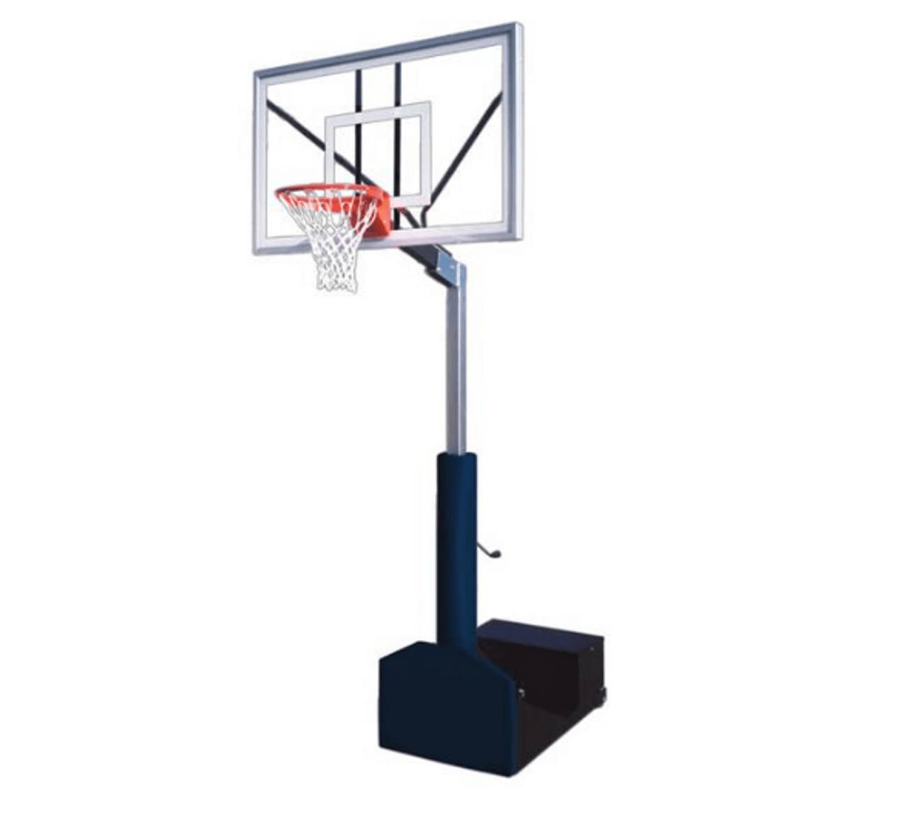 First Team Rampage Nitro Portable Adjustable Basketball Hoop