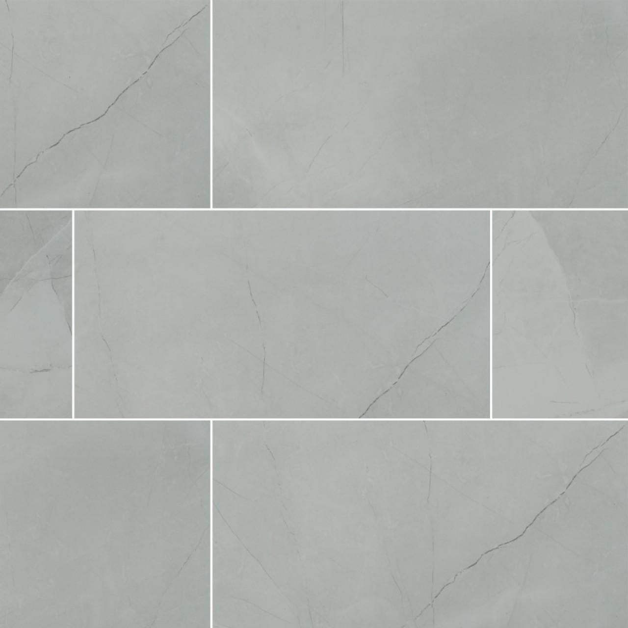 ms international sande series ivory 12x24 polished porcelain tile nsanivo1224p