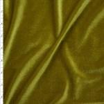 Cali Fabrics Dark Olive Green 4 Way Stretch Velvet By The Yard