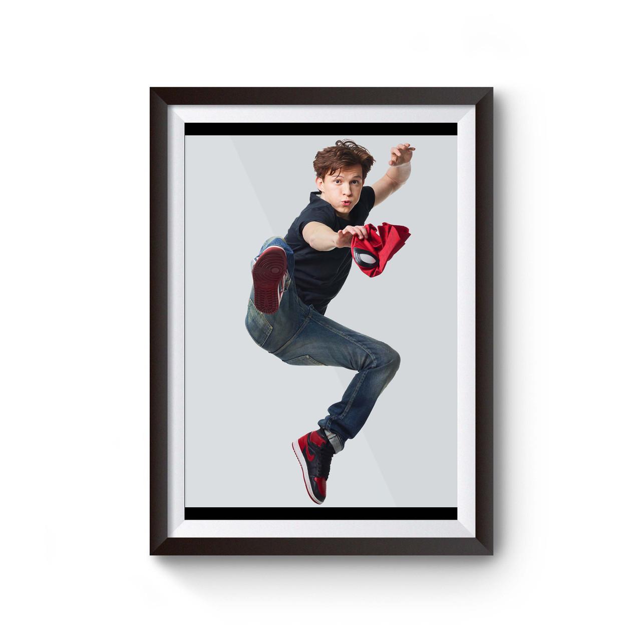 tom holland spiderman poster