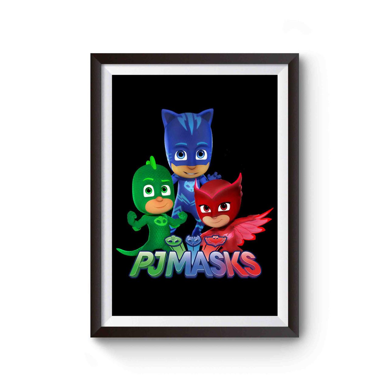 pj masks games funny poster
