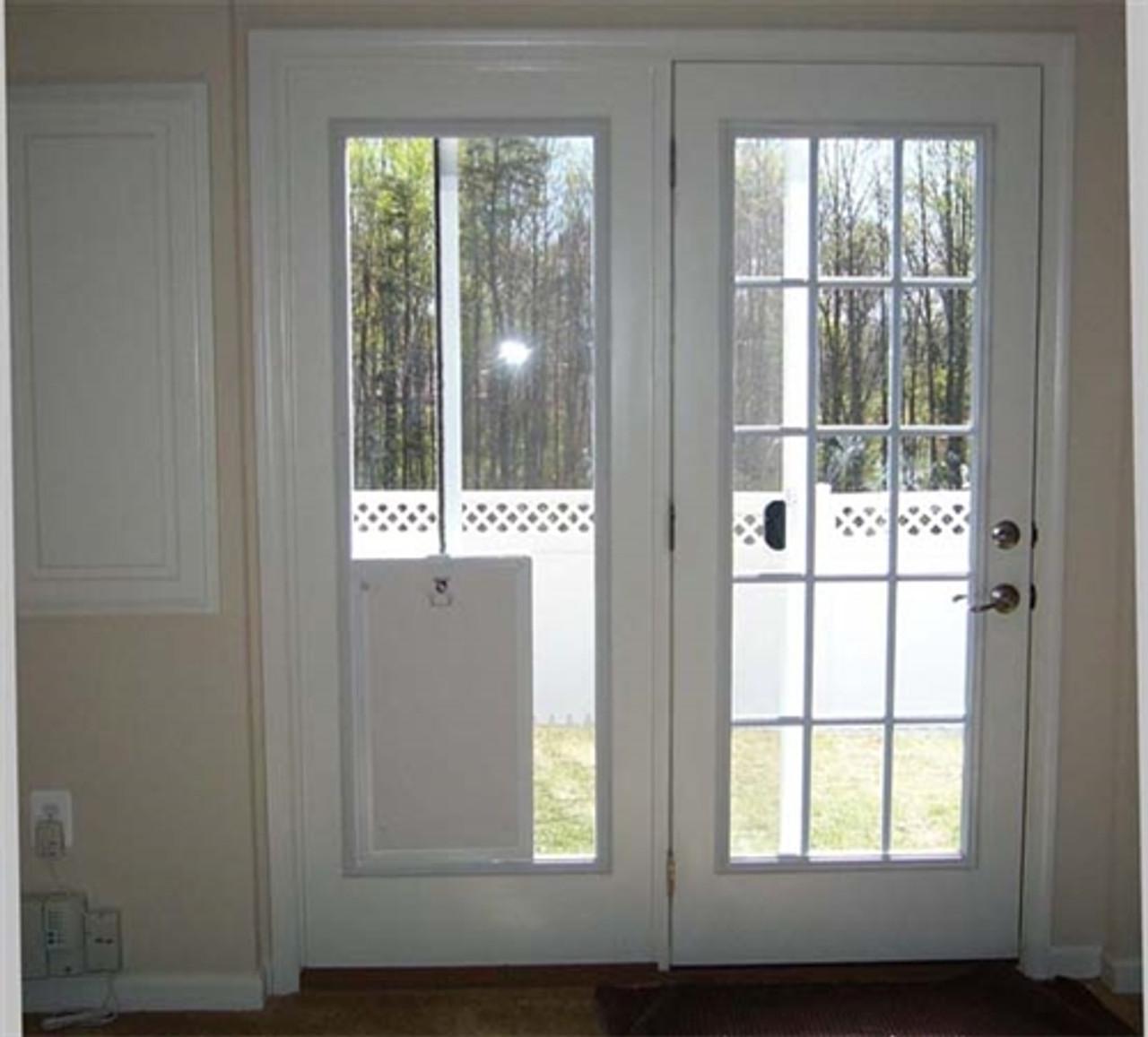 maxseal in glass pet door