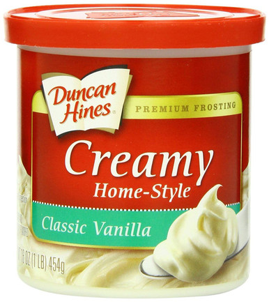 Duncan Hines Creamy Home Style Frosting Classic Vanilla