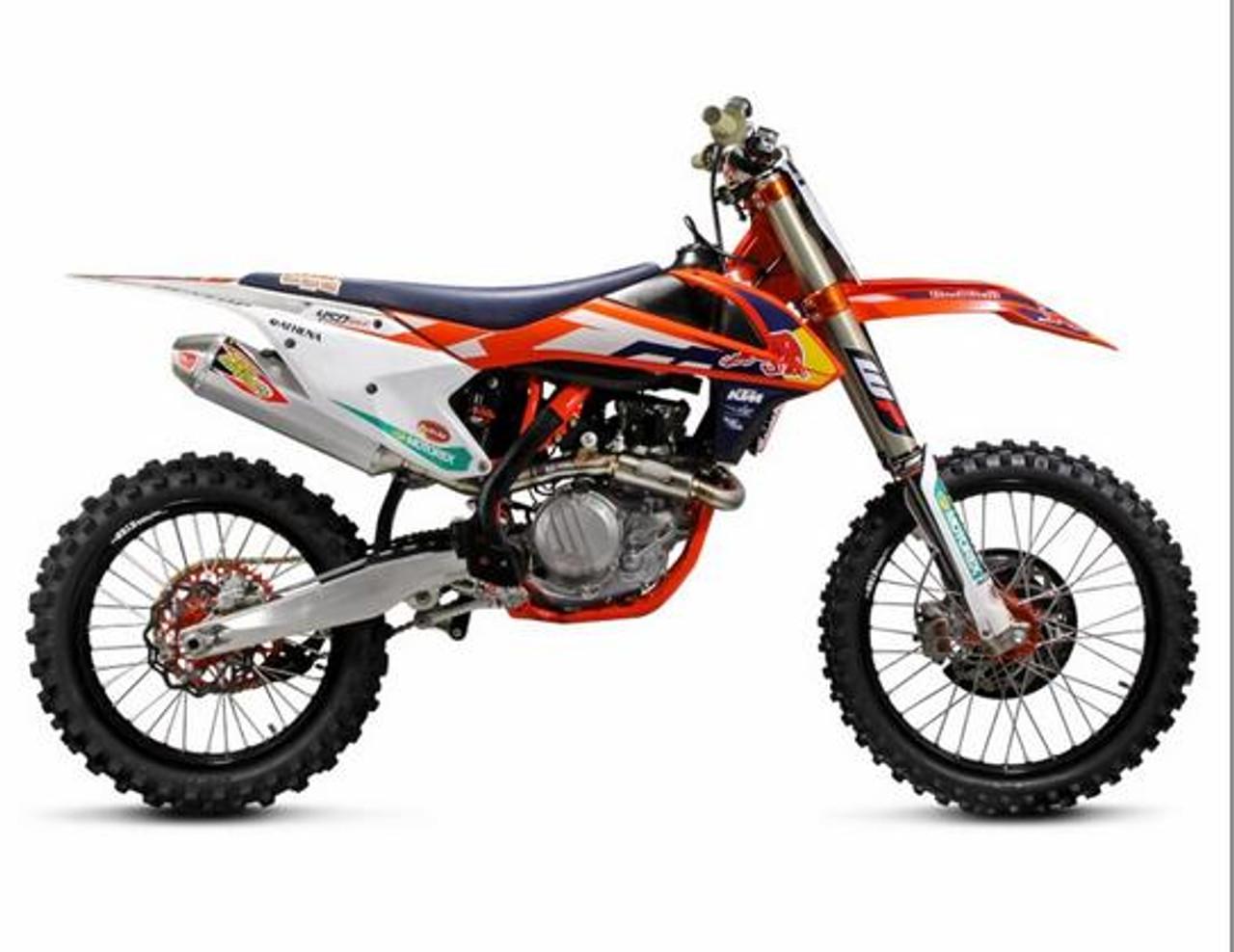 pro circuit 0151545g t6 t 6 full exhaust system ktm 450 sx f xc f 15 16