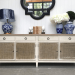 Hicks Sideboard With Rattan Doors Canalside Interiors