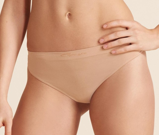 Capezio Seamless Low Rise Thong Dance Underwear