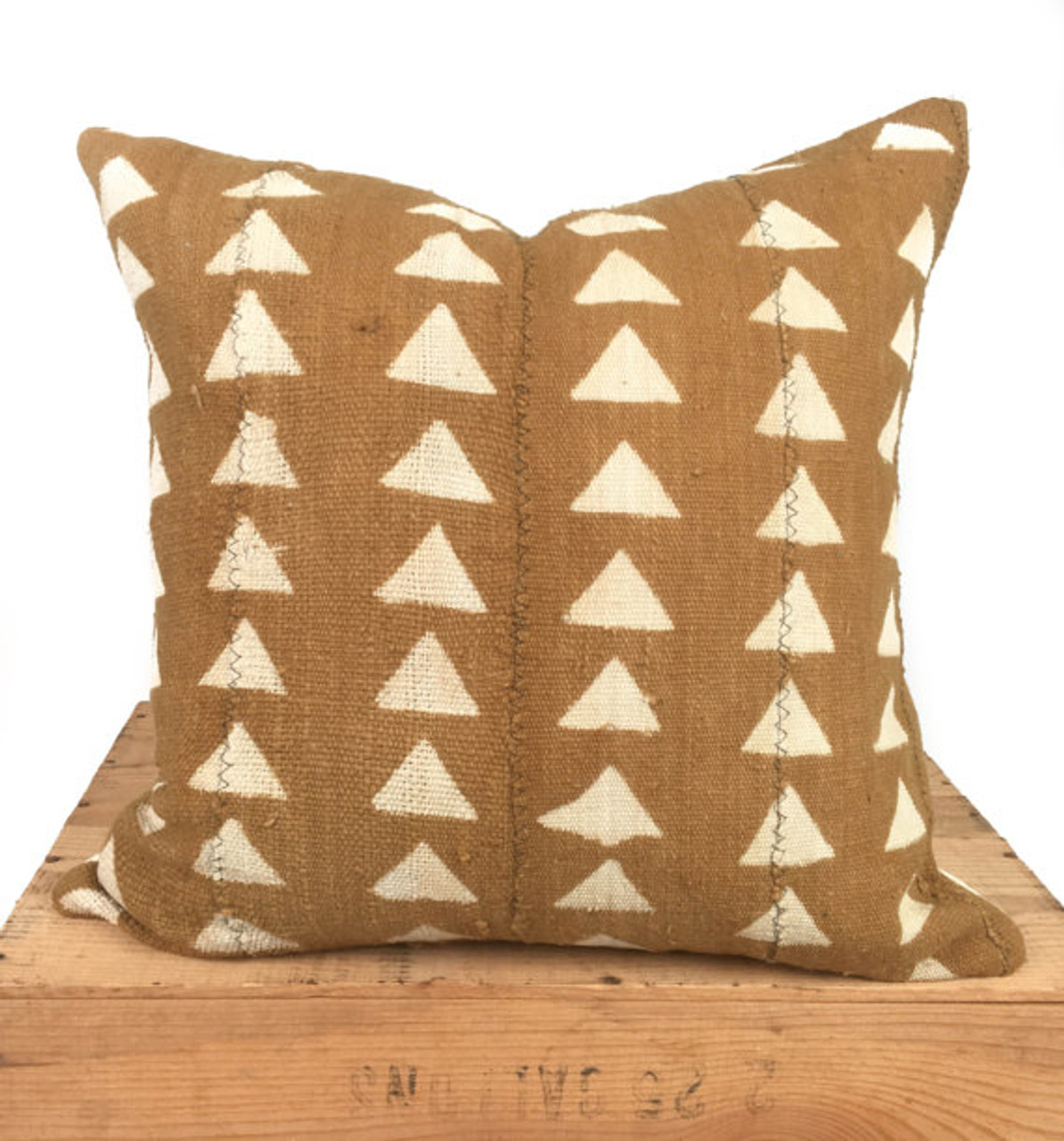mudcloth pillow cover african mud cloth authentic mud cloth pillow tan brown carlyle