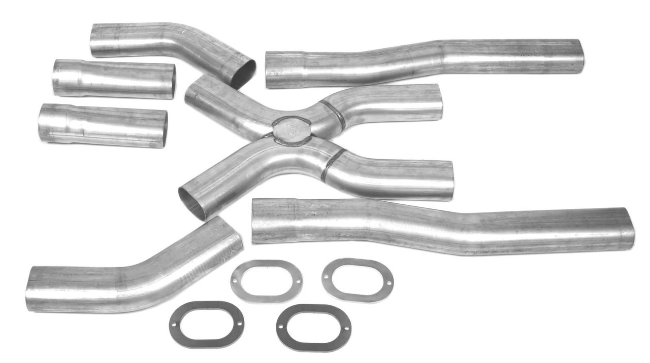x panded universal oval x pipe kits
