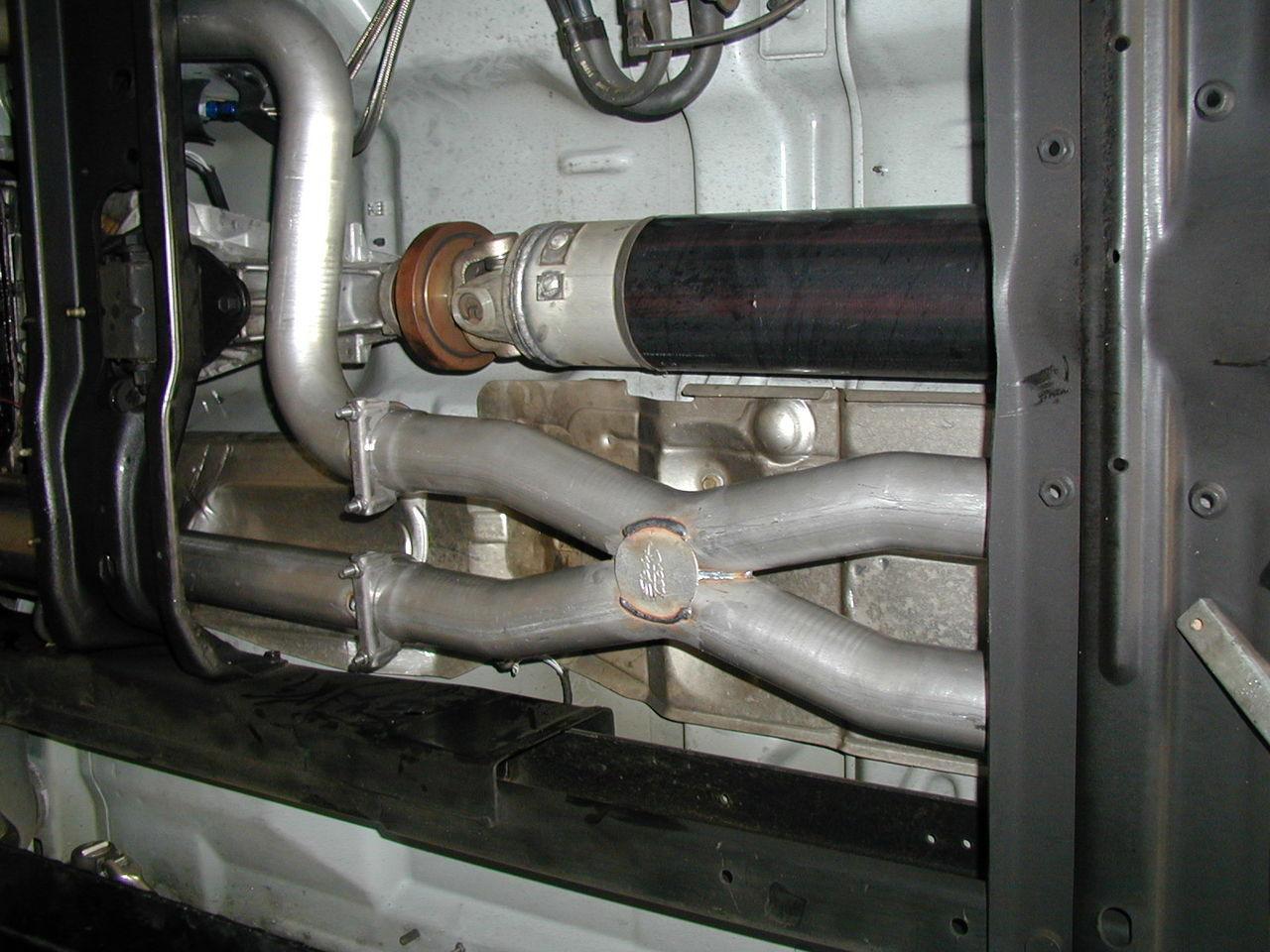 dodge dakota 3 x or h pipe true dual side exit system