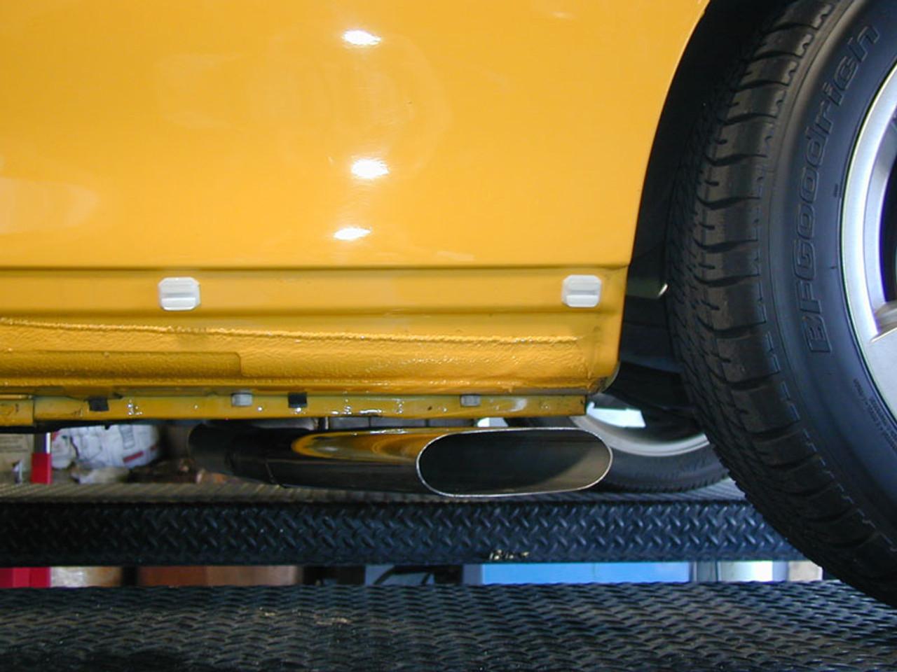 pontiac gto 2004 2005 side exhaust system