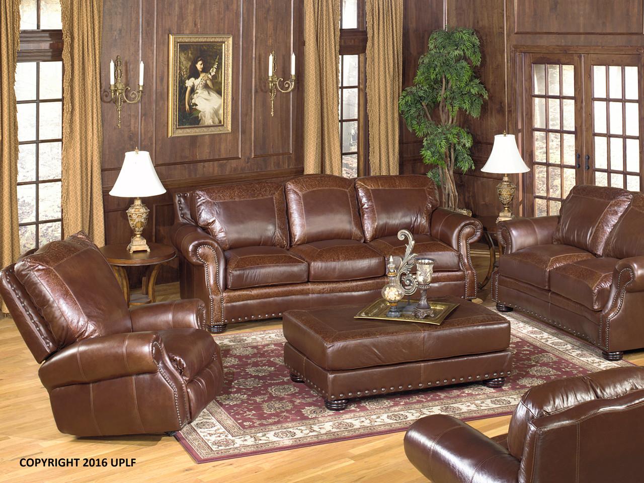 9750 leather sofa