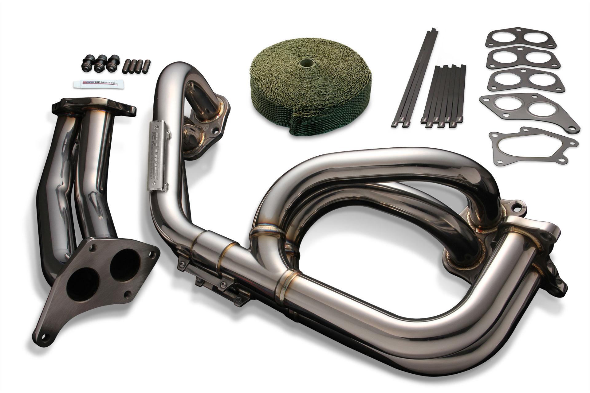 tomei twin scroll equal length exhaust manifold headers subaru wrx sti grb gdb