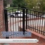 Blank Aluminum Fence Posts