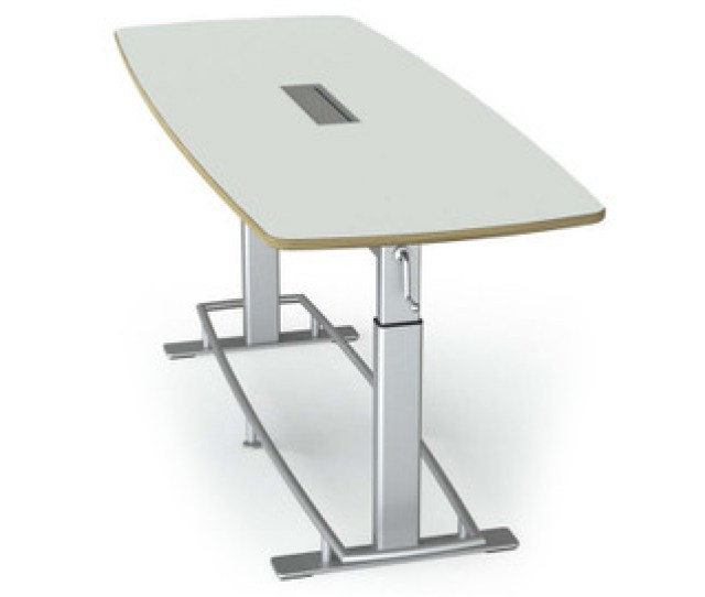 Focal Confluence Standing Height Conference Table