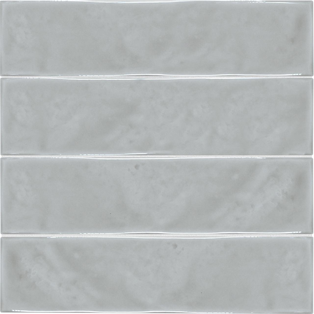 marlow smoke 3x12 glossy wall tile