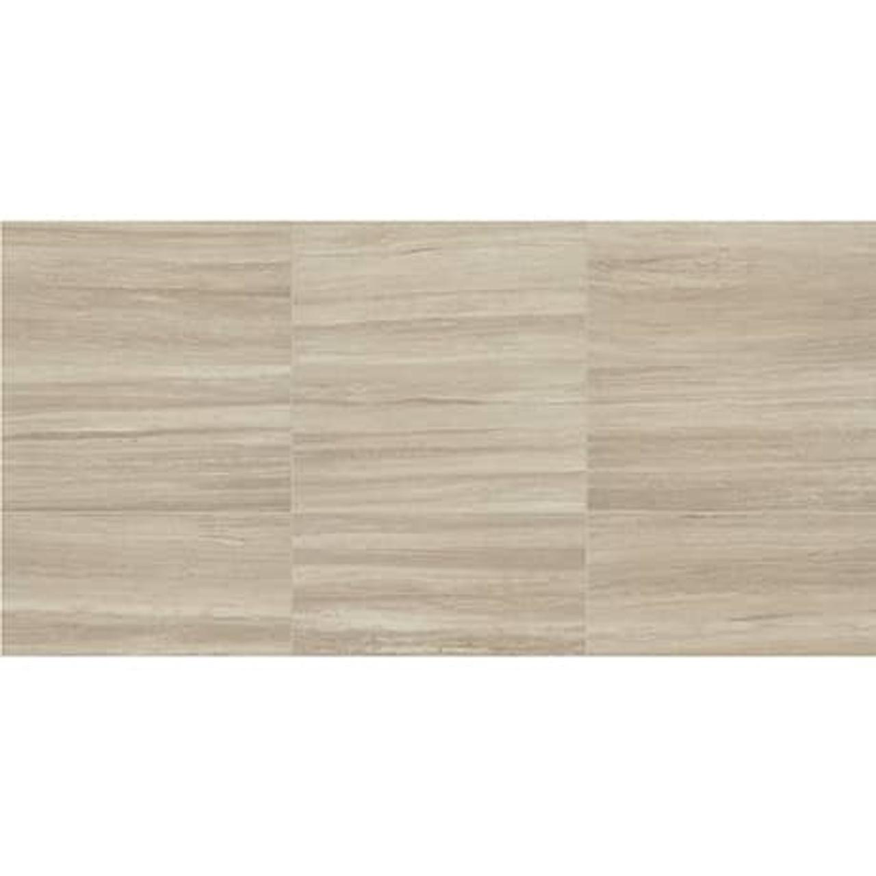 articulo feature beige 18x36 floor tile