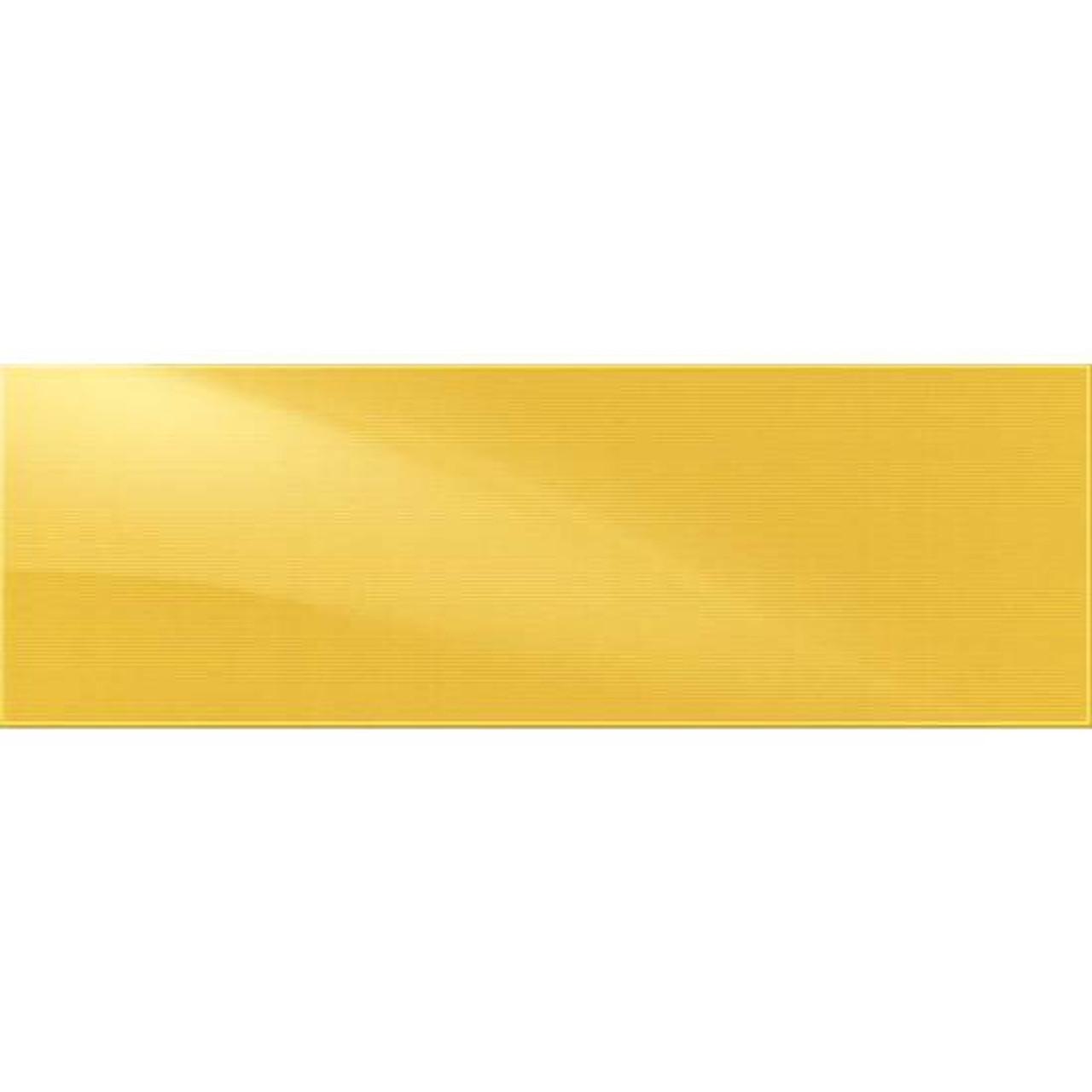 perspecta starburst yellow ceramic wall tile 8x24