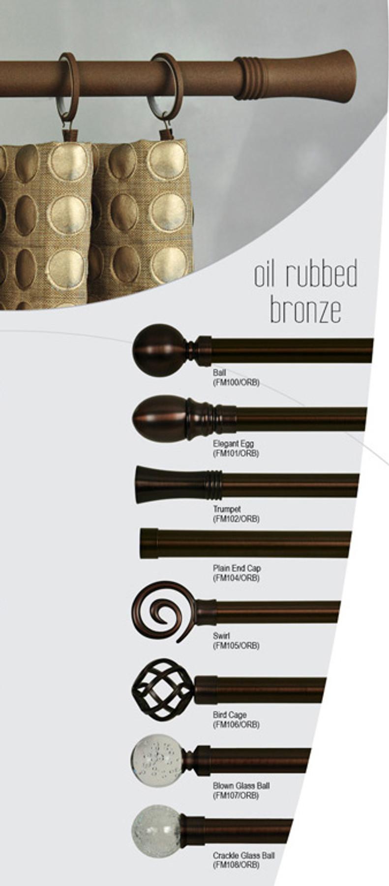 set of 2 oil rubbed bronze birdcage