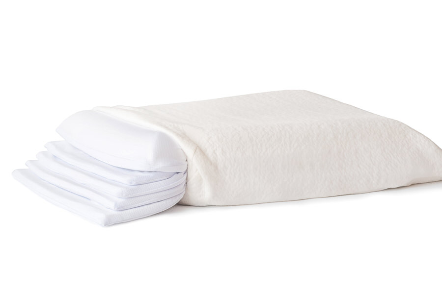 the adjustable plush memory pillow