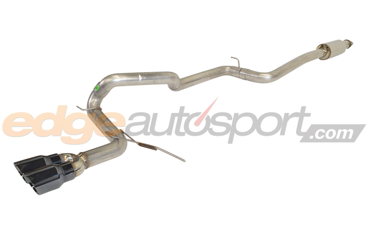awe tuning track edition catback exhaust ford focus st 2013 2018