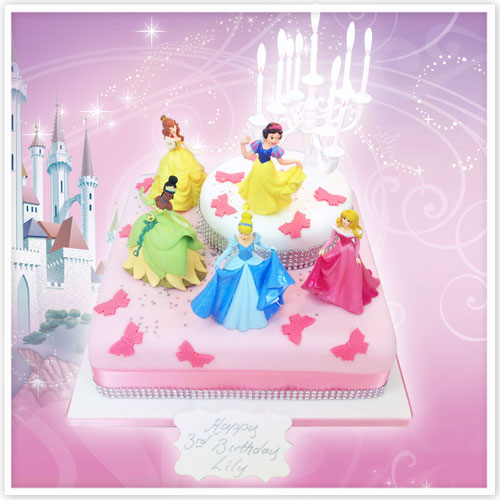 The Continuing Appeal Of Disney Princess Birthday Cakes The Cake Store