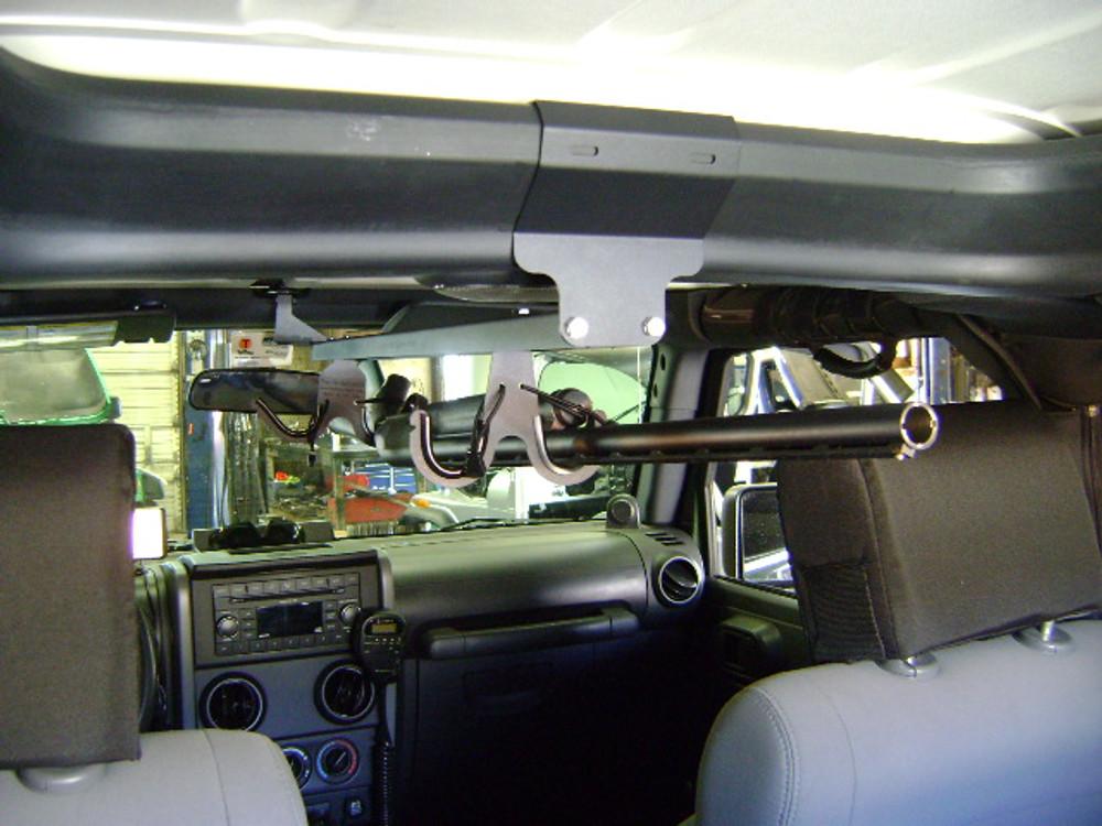 07 14 jk overhead gun rack