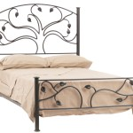 Wrought Iron Bed Frame Queen Handmade Iron Bed