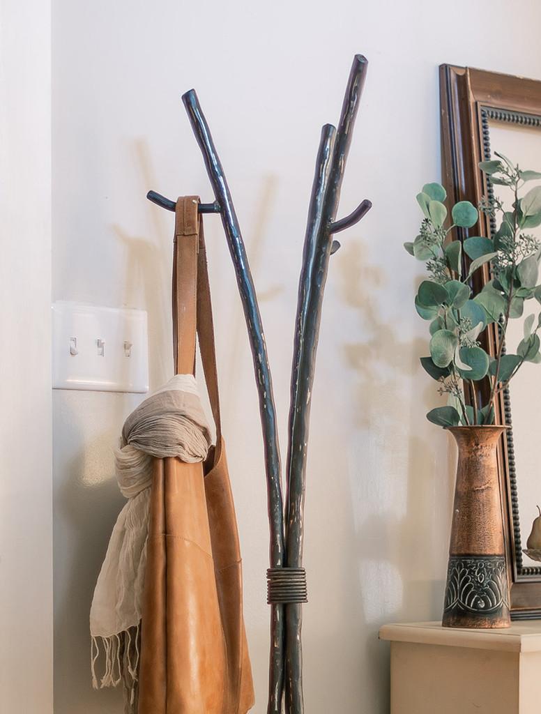 studio series standing coat or robe rack